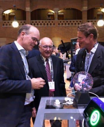 Pete Hoekstra in gesprek met Bas Zeper op CES Unveiled 2019 in Amsterdam.